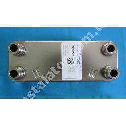 065153  Теплообмінник вторинний (ГВП) 20 пластин Vaillant