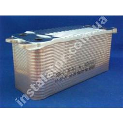 0020025041 Теплообмінник  вторинний  (ГВП) Vaillant turboTEC Plus (35 пластин)