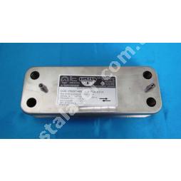 17B2071400 Теплообмінник вторинний (ГВП) 14 пластин BAXI/ZILMET