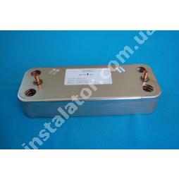 995945 Теплообмінник вторинний (пластинчастий) ГВП Ariston Uno