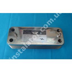 17B2071600 Теплообмінник вторинний (ГВП) 16 пластин ZILMET