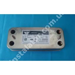 17B1901200 Теплообмінник вторинний (ГВП) 12 пластин ZILMET