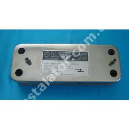 17B2071200 Теплообмінник вторинний (ГВП) 12 пластин ZILMET