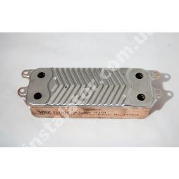 Теплообмінник ГВП з вушками VAILLANT TEC PRO, PLUS, R1 14 пластин